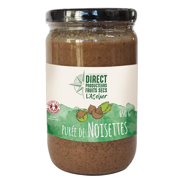 Direct producteurs Fruits secs - Purée de noisettes de Turquie 650g