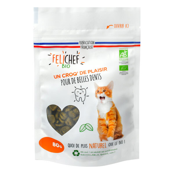 Felichef - Friandises hygiène bucco dentaire chat 80g