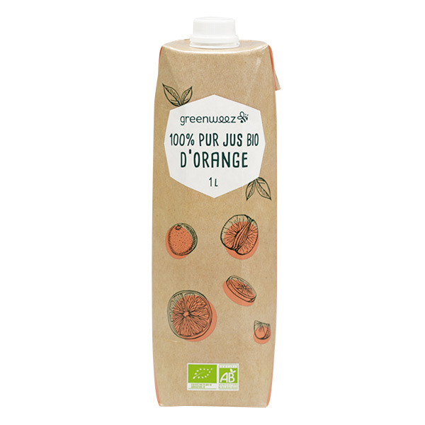 Greenweez - Jus d'orange bio 1L