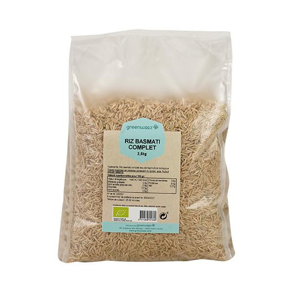 Greenweez - Riz basmati complet bio 2,5kg