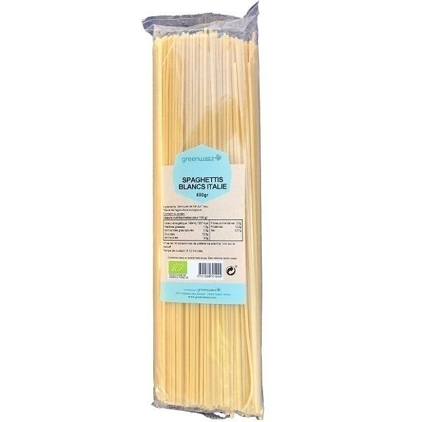 Greenweez - Spaghettis blancs bio Italie 500g
