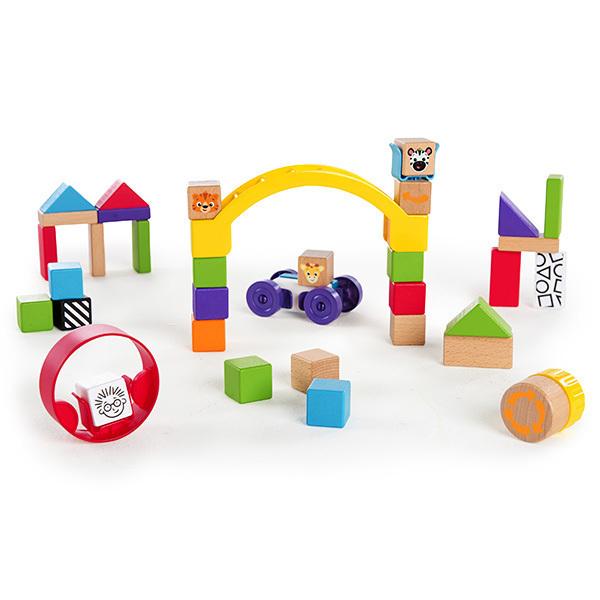 Hape - Cubes de découverte - A partir de 12 mois