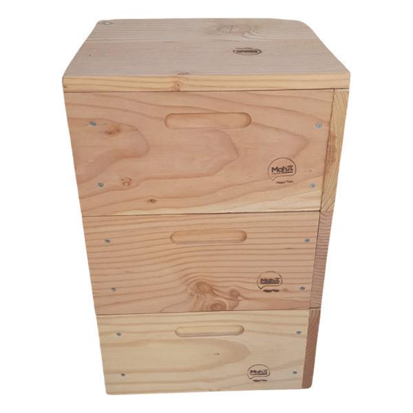 Happy Vers - Lombricomposteur en bois moyenne capacité