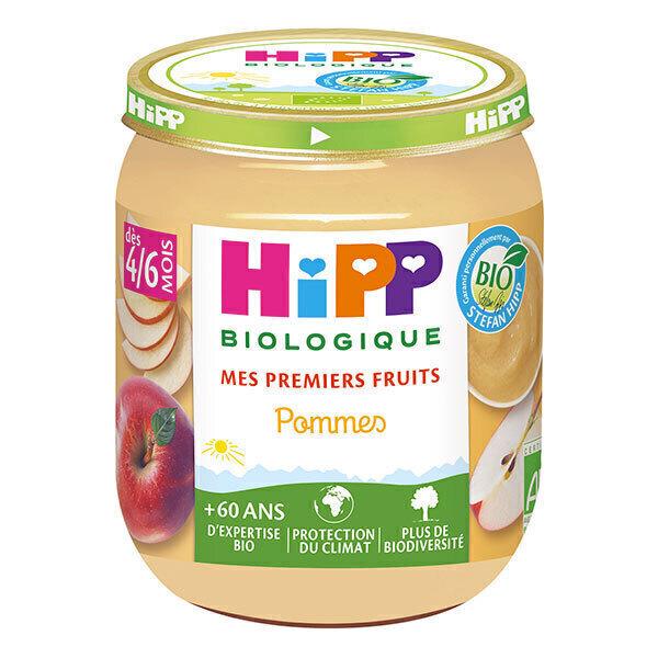 HiPP - Pommes pot 4-6 mois 125g