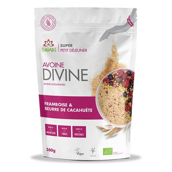 Iswari - Avoine Divine Framboise & Beurre de cacahuète