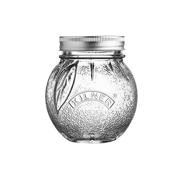 Kilner - Bocal de conservation en verre Orange 40cl