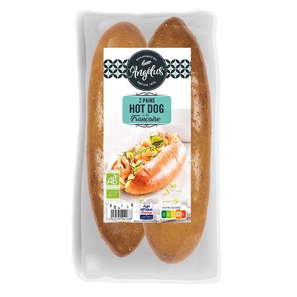 L'Angélus - Pains hot dog 2x80g