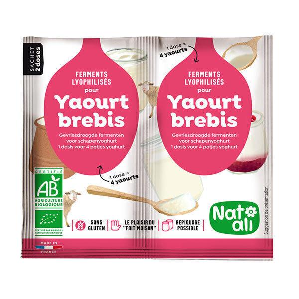 Natali - Ferment pour yaourt au lait de brebis 2x6g
