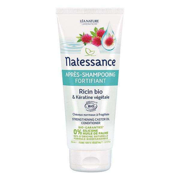 Natessance - Après-shampooing fortifiant - Ricin Bio & Kératine végétale