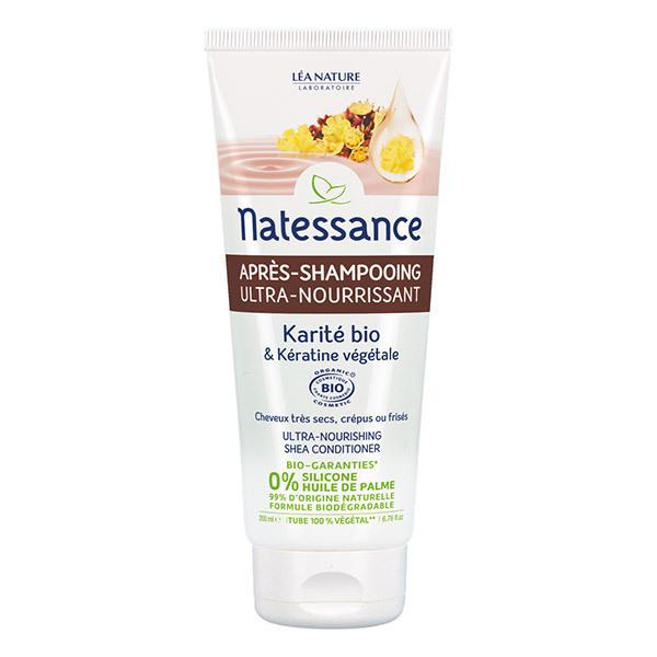 Natessance - Après-shampooing Ultra nourrissant - Karité & Kératine