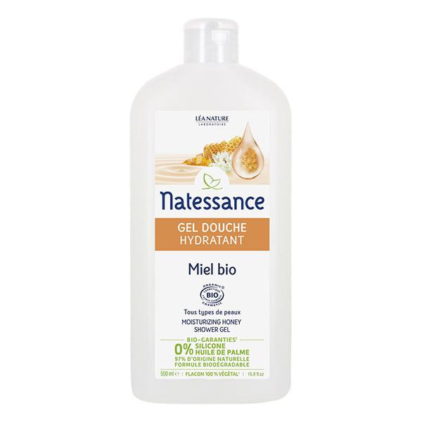 Natessance - Gel douche Miel Hydratant 500ml