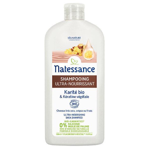 Natessance - Shampooing Ultra nourrissant - Karité & Kératine