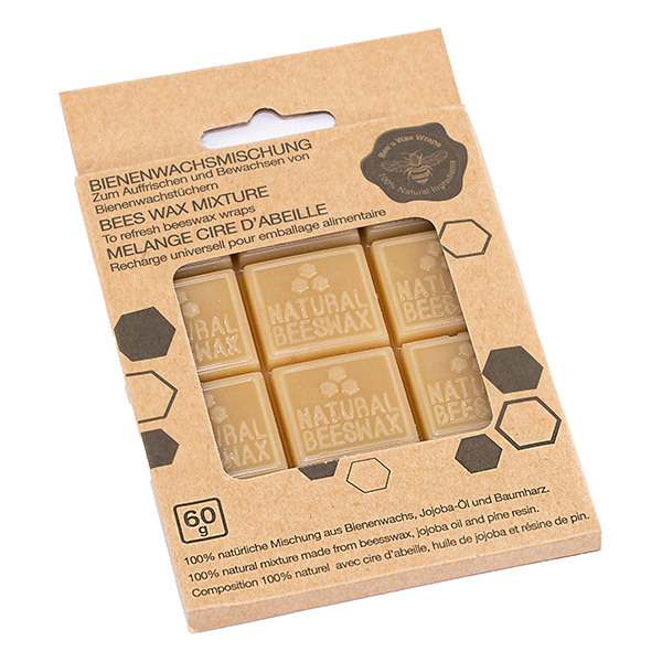 Nuts - Cubes de cire d'abeille pour emballage alimentaire