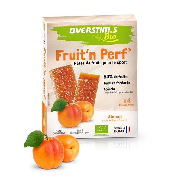Overstims - Pâtes de fruits Sport Bio Abricot x4