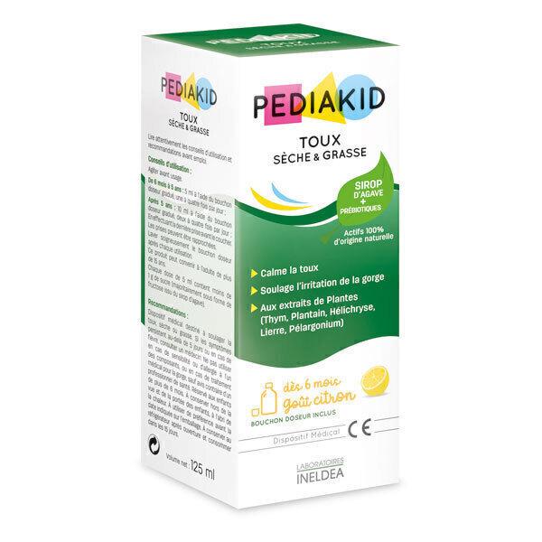 Pediakid - Pediakid® Toux sèche et grasse - Citron 125ml