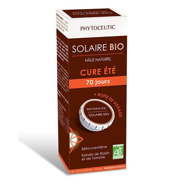 Phytoceutic - Cure d'été Solaire Bio - 120 + 20 comprimés