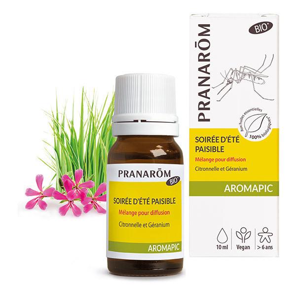 Pranarôm - Aromapic, mélange diffusion Soirée d'été paisible 10ml