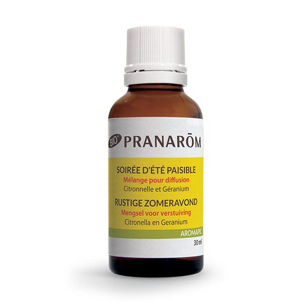 Pranarôm - Aromapic, mélange diffusion Soirée d'été paisible 20ml+10ml