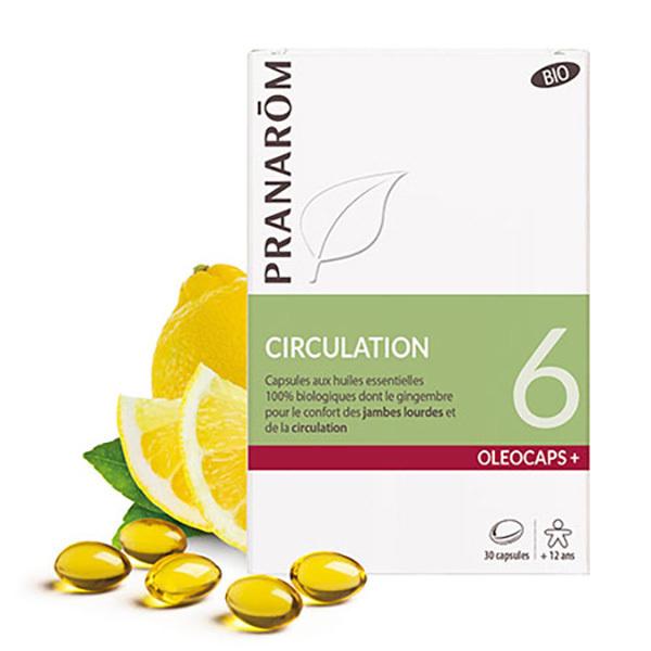 Pranarôm - Circulation 30 capsules