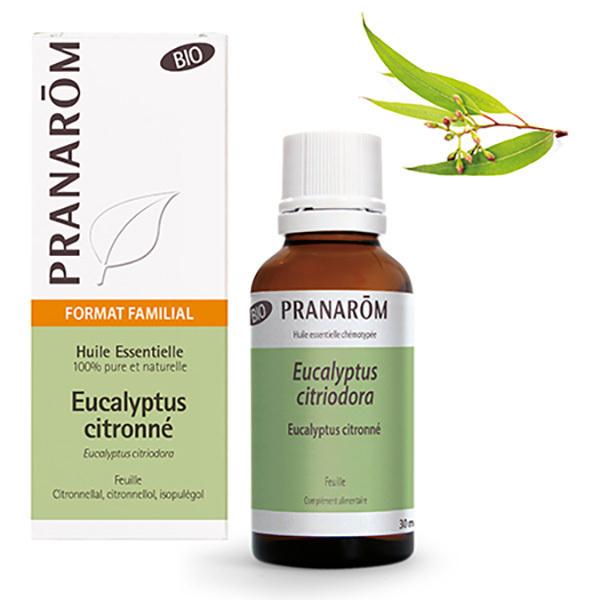 Pranarôm - Eucalyptus citronné - Feuille Bio 30ml