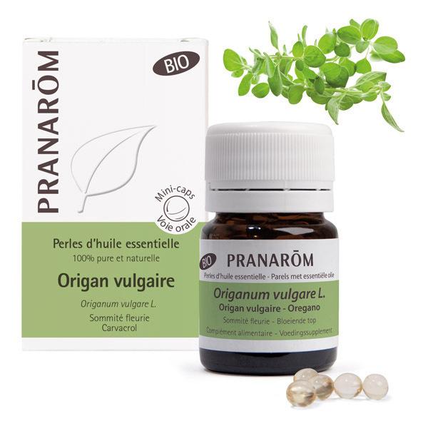 Pranarôm - Huile essentielle d'Origan vulgaire Sommité fleurie 60 perles