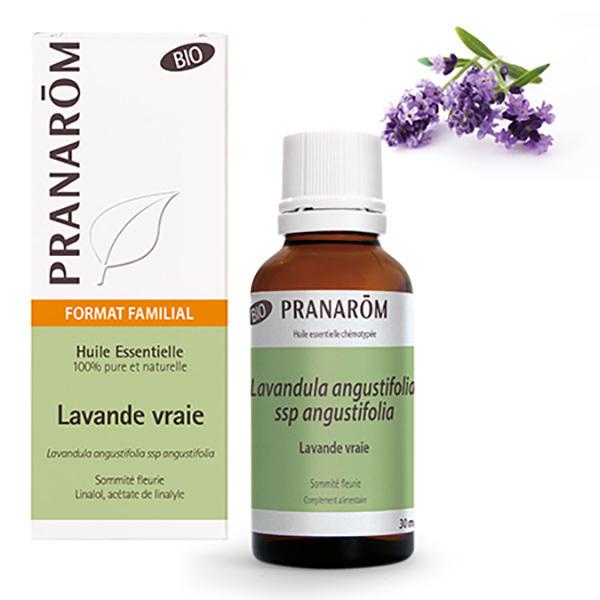 Pranarôm - Huile essentielle de Lavande vraie Sommité fleurie 30ml