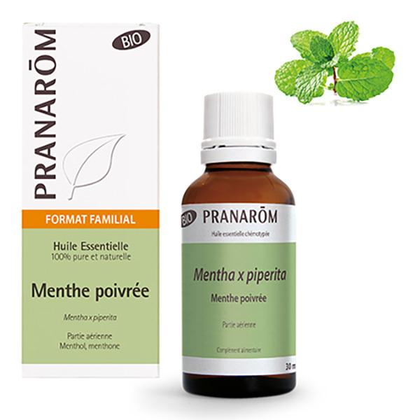 Pranarôm - Huile essentielle de Menthe poivrée Partie aérienne 30ml