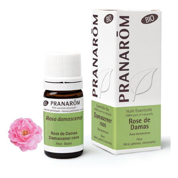 Pranarôm - Huile essentielle de Rose de Damas Fleur 5ml