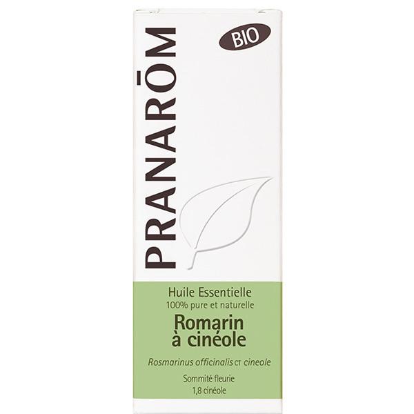 Pranarôm - Huile essentielle de Romarin à cinéole Sommité fleurie 10ml