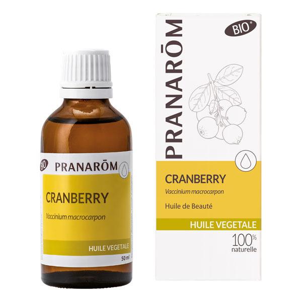 Pranarôm - Huile végétale de Cranberry 50ml