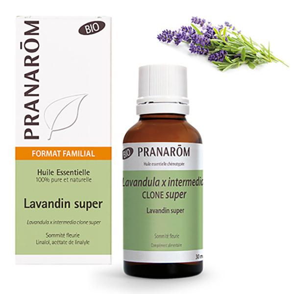 Pranarôm - Huile essentielle de Lavandin super Sommité fleurie 30ml