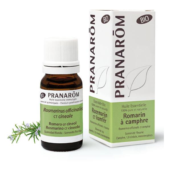 Pranarôm - Huile essentielle de Romarin à camphre Sommité fleurie 10ml