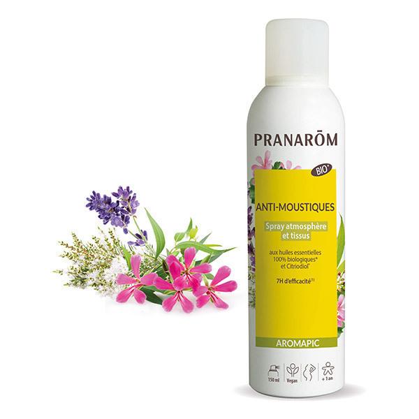 Pranarôm - Spray Anti-moustiquesAtmosphère & tissus Bio 150ml