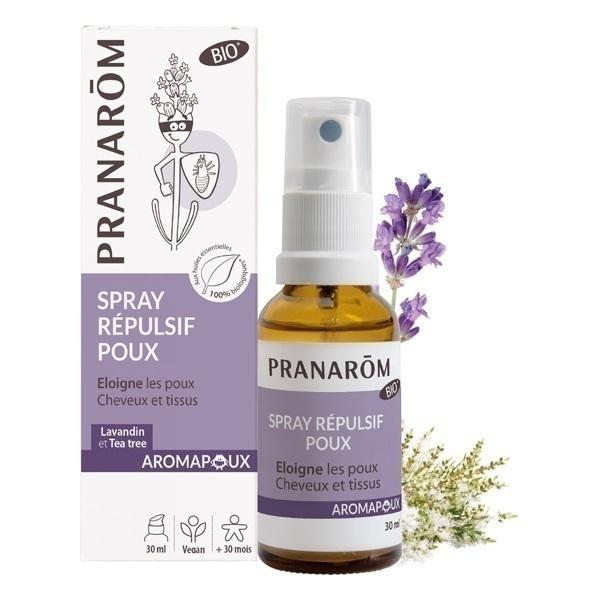 Pranarôm - Spray répulsif Éloigne les poux 30ml