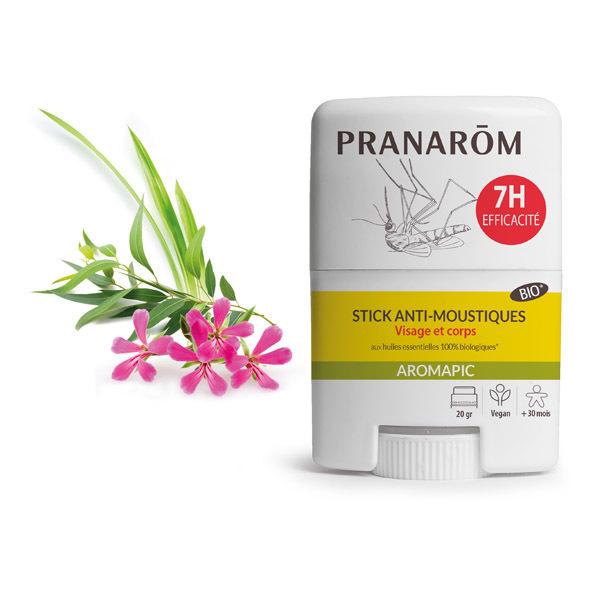 Pranarôm - Stick anti-moustiques visage et corps 20g