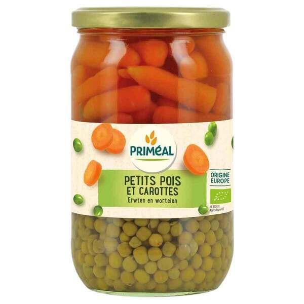 Priméal - Petits pois et carottes 720ml