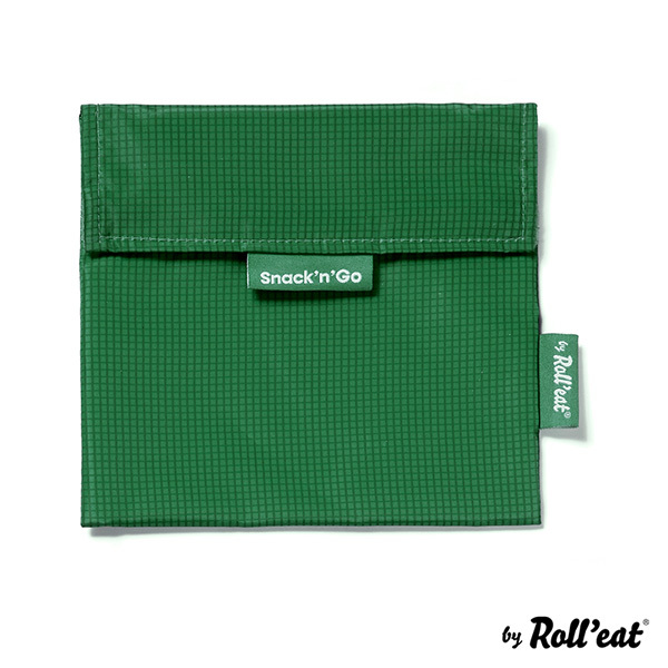 Roll'eat - Sac à goûter Snack'n'Go Active Vert