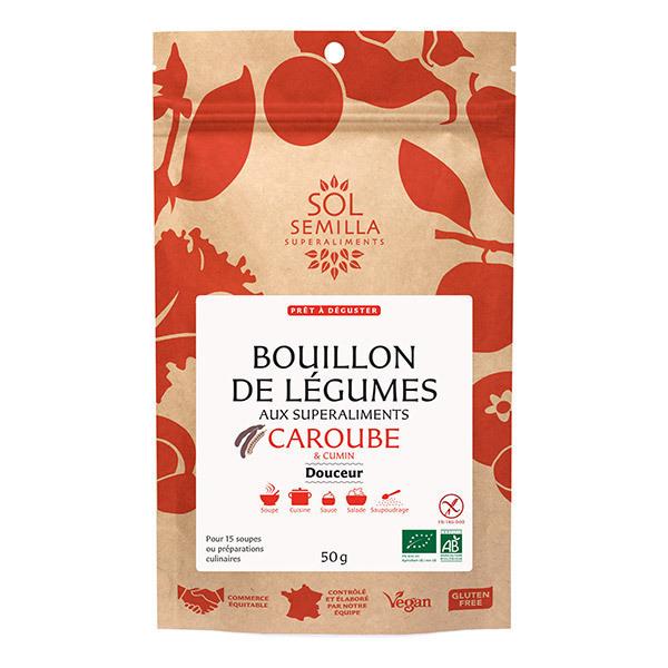 Sol Semilla - Bouillon de légumes Caroube & Cumin Douceur 75g