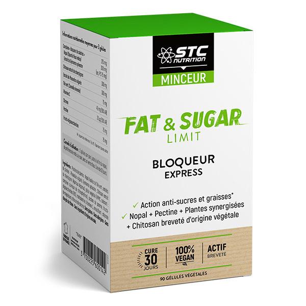 STC Nutrition - Fat & Sugar Limit - 90 gélules
