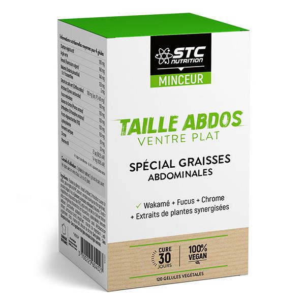 STC Nutrition - Taille Abdos Ventre Plat - 120 gélules