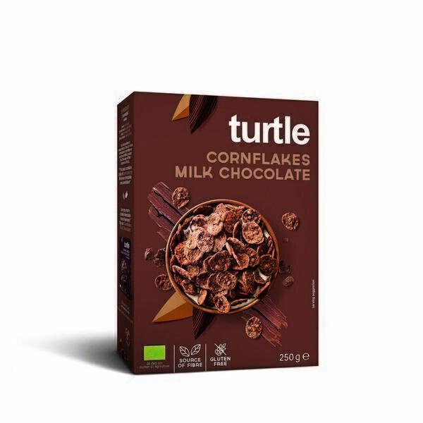 Turtle - Cornflakes enrobés de chocolat lait 250g