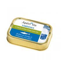 Apéri Bio - Sardines à l'huile d'olive 115g