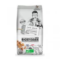 Biodyssée - Café en grains 100% arabica doux 1KG