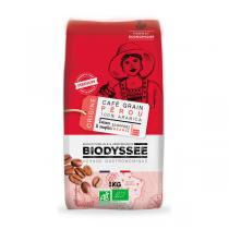 Biodyssée - Café en grains 100% arabica du Pérou - Intense & complet 1KG