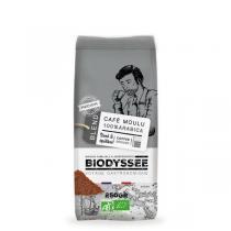 Biodyssée - Café moulu 100% arabica - Medium 250g