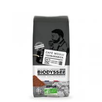 Biodyssée - Café moulu 100% arabica - Puissant 250g