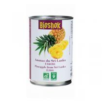 Bioshok - Ananas en tranches 400ml