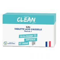 CLEAN - 30 tablettes lave-vaisselle tout-en-un