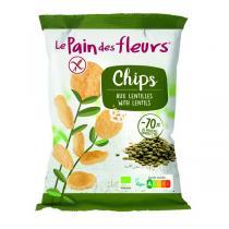 Le pain des fleurs - Chips aux lentilles 50g