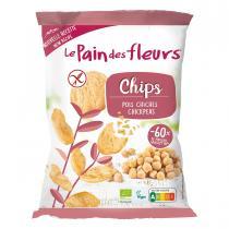 Le pain des fleurs - Chips aux pois chiches 50g